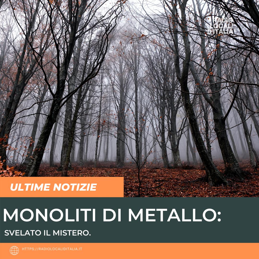 Monoliti di metallo