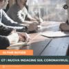 G7 : nuova indagine sul coronavirus.